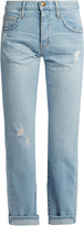 Current/Elliott The Original mid-rise straight-leg jeans