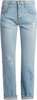 Current/Elliott The Original mid-rise straight-leg jeans
