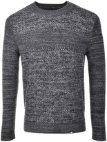 Pretty Green Gibside Knit Jumper Navy