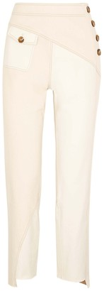 REJINA PYO Lucie panelled slim-leg trousers