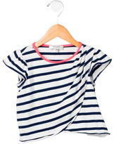 Milly Girls' Striped Short Sleeve Top