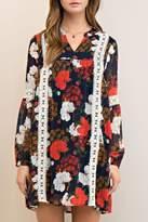 Entro Floral Lace Tunic