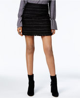 MICHAEL Michael Kors Fringed Boucle Mini Skirt
