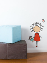 Mop Top Wall Decal