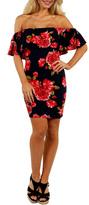 24/7 Comfort Apparel Rose Meadow Dress