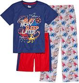 Asstd National Brand 3-pc. Kids Sport Pajama Set Boys