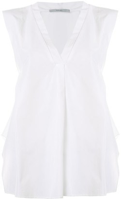 Dusan Sleeveless V-Neck Top