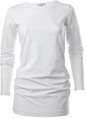 cove cashmere - Cove Long Length White Jersey T Shirt - Medium