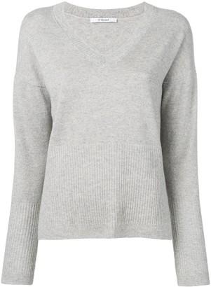 Derek Lam 10 Crosby Twilight Wooster V-Neck Sweater