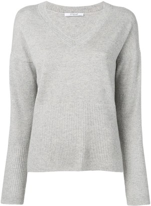 Derek Lam 10 Crosby Twilight Wooster V-neck jumper