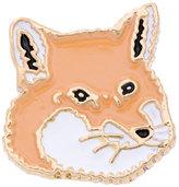MAISON KITSUNÉ Fox-head pin