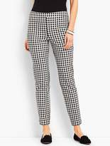 Talbots Chatham Ankle Pant - Gingham