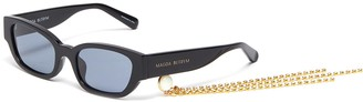 Magda Butrym x Linda Farrow Acetate frame cateye sunglasses