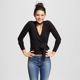 XOXO Women's Long Sleeve Wrap Cardigan Sweater Juniors')