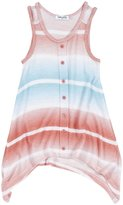Splendid Ombre Striped Tank Sweater (Toddler/Kid)-Coral-7/8