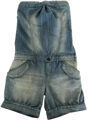 Bel Air Blue Denim - Jeans Jumpsuit for Women