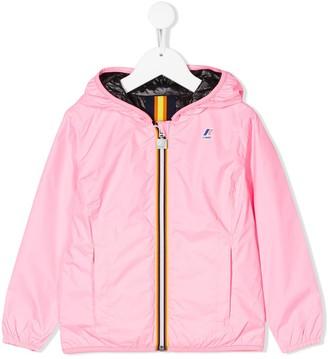 K Way Kids Le Vrai Claude 3.0 rain jacket