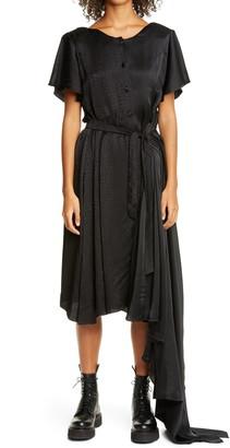 Vetements 50/50 Asymmetrical Dress