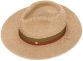 Maison Michel panama hat - women - Straw/Cotton - M