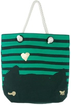 Cats By Tsumori Chisato Striped shopper bag