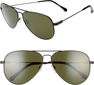 ELECTRIC AV1 XL 60mm Aviator Sunglasses