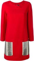 Salvatore Ferragamo contrast pocket dress