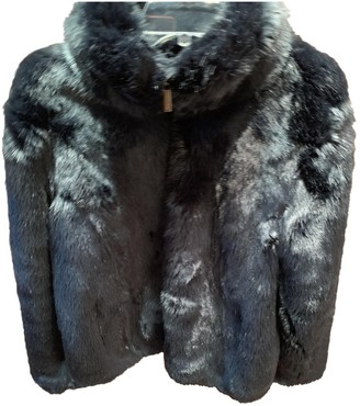 Michael Kors Blue Faux fur Coat for Women