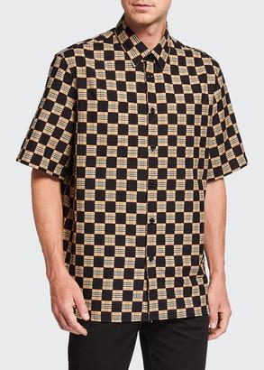 Burberry Men's Trulo Vintage Checkerboard Sport Shirt