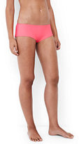 Lands' End Women's Cheeky Boy Short Swimsuit Bottoms-Deep Sea Geo