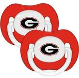 Baby Fanatic NCAA Baby Pacifier University of Georgia, Holes by