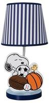 Bedtime Originals Peanuts Lamp w/ Shade & Bulb - Snoopy Sports