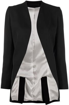 Haider Ackermann Open Tuxedo Jacket