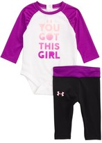 Under Armour Infant Girl's You Got This Girl Bodysuit & Pants Set