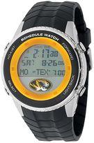 Game Time Missouri Tigers Stainless Steel Digital Schedule Watch - Men