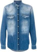 Dolce & Gabbana Dolce E Gabbana Men's Blue Cotton Shirt.