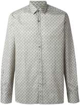 Lanvin diamond paisley pattern shirt