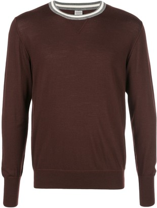 Eleventy Crew Neck Knit Sweater