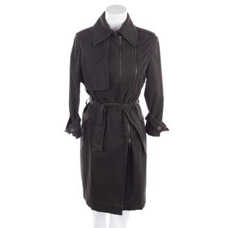 Lanvin Brown Cotton Trench Coat for Women