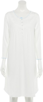 Women's Miss Elaine Essentials Knit Short Nightgown