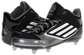 adidas Lightning D (Black/Running White/Metallic Silver) - Footwear
