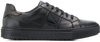 Baldinini textured side logo sneakers