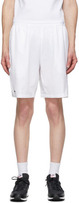 Lacoste White Novak Djokovic Edition Tennis Shorts