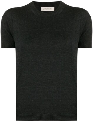 Gentry Portofino Short Sleeve Knitted Top