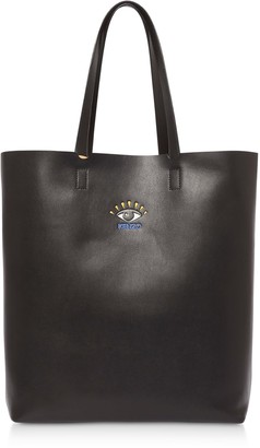 Kenzo Cut Out Leather Tote Bag