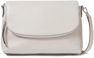 Kate Spade Polly Large Pebbled-leather Shoulder Bag