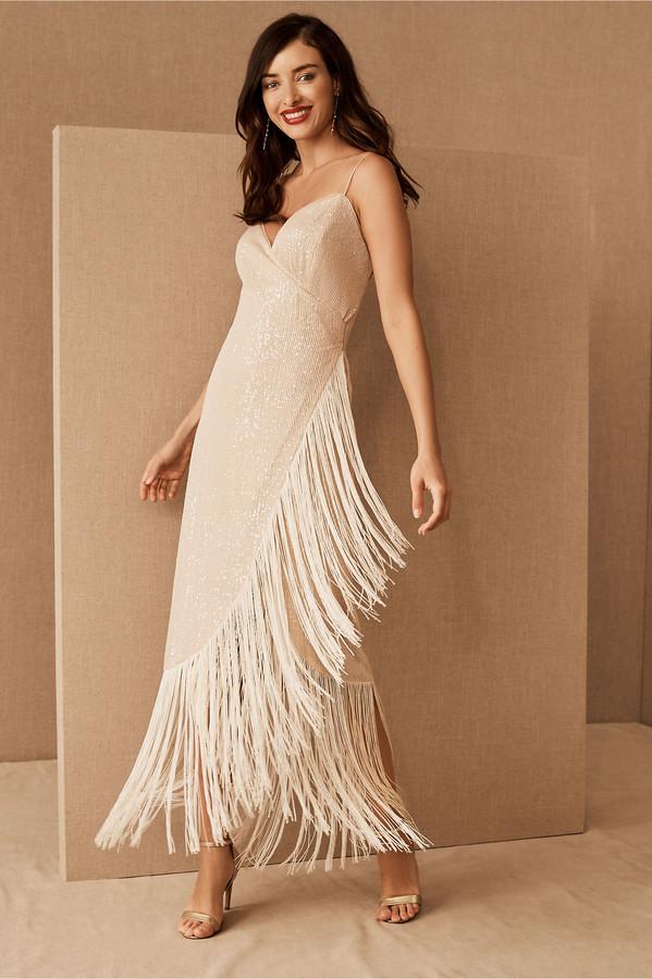 Azulu Tierra Fringe Dress