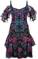 Marchesa Notte floral embroidered