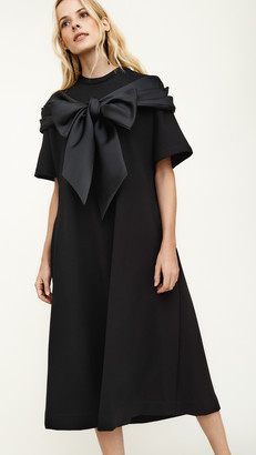 Simone Rocha Wrap A Line Dress
