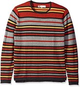 Levi's Men's Kerman Light Weight Sweater with Rolled Hem and Collar