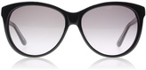 Marc by Marc Jacobs 353/S Sunglasses Black / Crystal Grey 45Q 56mm
